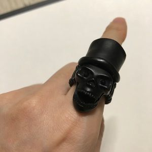Vintage Accessories - Skull Ring